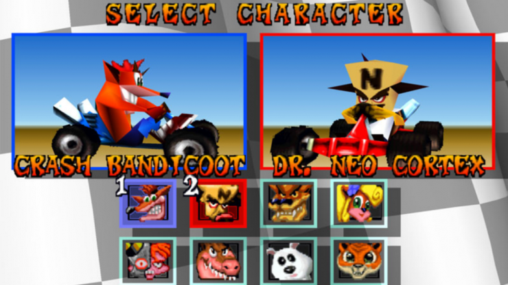 What your Crash Team Racing character choice says about you