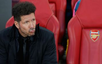 'That alone was worth a sending off'... Diego Simeone's hair ridiculed by football fans
