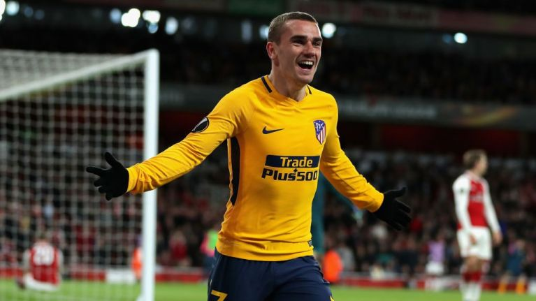 Antoine Griezmann did *that* celebration against Arsenal... here's what it's all about