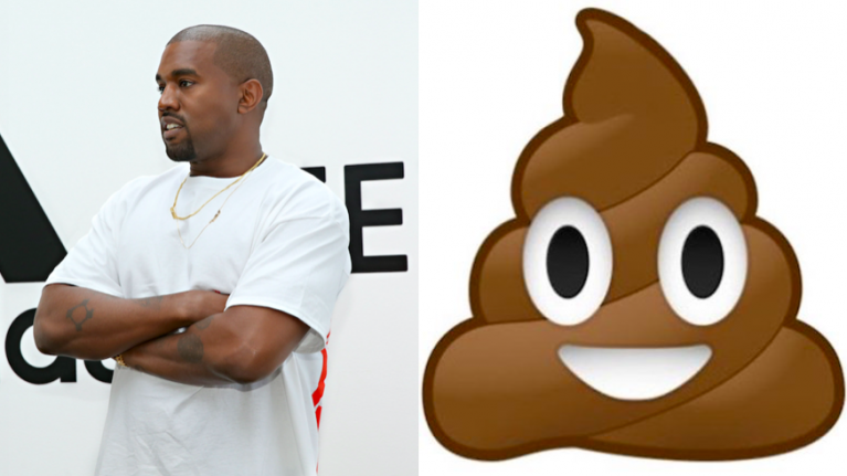 """Kanye West has released a new song and it's """"poop"""""""