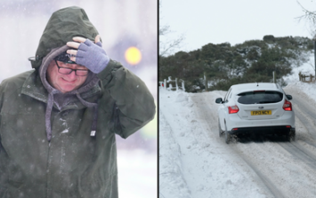 Snow and -4C set for UK this weekend as country 'returns to winter' following heatwave