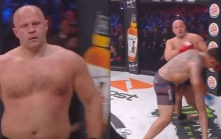 Arguably the greatest heavyweight ever, Fedor Emelianenko brutally knocks out Frank Mir