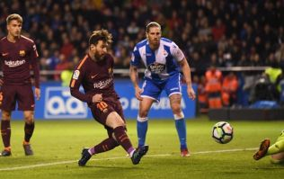 A Messi hat-trick secured Barcelona's 25th La Liga title