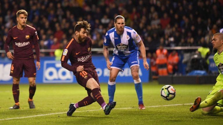 A Messi hat-trick secured Barcelona's 25th La Liga title | JOE co uk