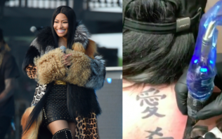 Fan gets huge tattoo of Nicki Minaj and it's actually pretty good