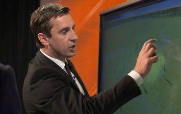 Supporters are disputing one pick in Gary Neville's Team of the Season