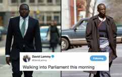 David Lammy compares himself to Omar from The Wire after Rudd resignation