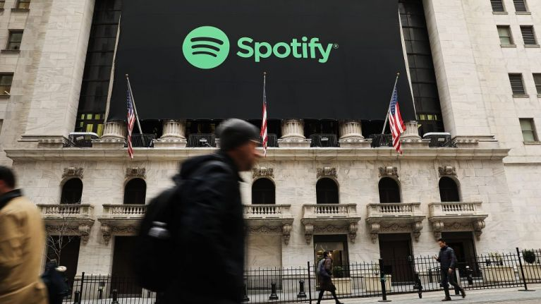 Is Spotify the key to determining the country's spending habits?