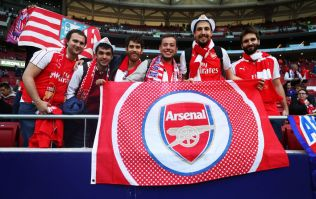Arsenal fans reckon they're set for victory in Madrid after discovering they're not playing in blue