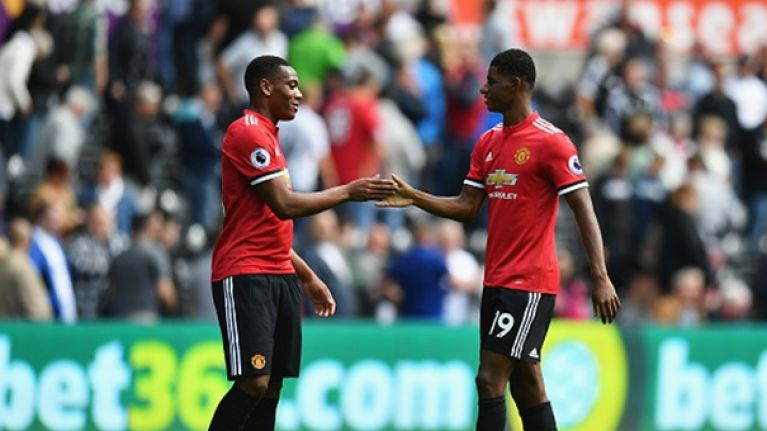 Jose Mourinho harshly criticises Marcus Rashford and Anthony Martial following Brighton loss