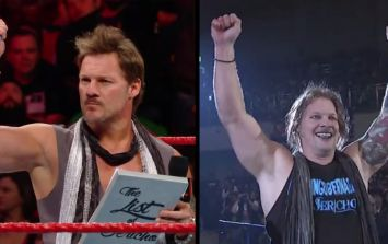 WWE's Chris Jericho returned to Japan and has a strange new look