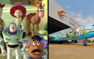 A Toy Story themed plane now exists and we're ready to go to infinity and beyond