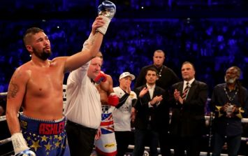 Tony Bellew moves viewers to tears with heart-wrenching victory speech