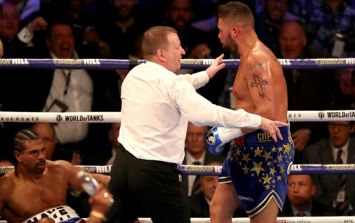 Tony Bellew reveals what he told the referee at the end of round three