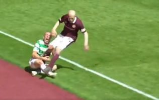 WATCH: Steven Naismith labelled a 'coward' after 'leg breaking' challenge on Scott Brown