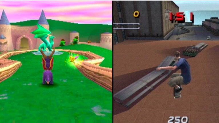 QUIZ: Can you name the PS1 game from the picture?