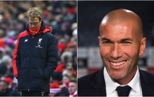 Zinedine Zidane has some very, very bad news for Liverpool supporters