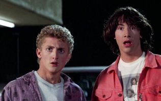 Excellent news, as Bill and Ted 3 is finally happening
