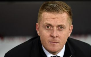 So this is a story about Garry Monk funding a tattoo of his face on a backside