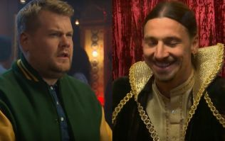 WATCH: Zlatan Ibrahimovic stars as fortune teller on James Corden's Late Late Show