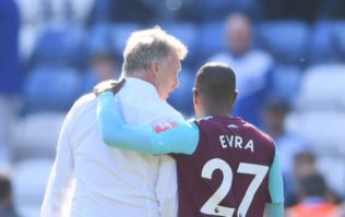 Bizarre bacon roll incident makes Patrice Evra's reunion with David Moyes an unexpected one