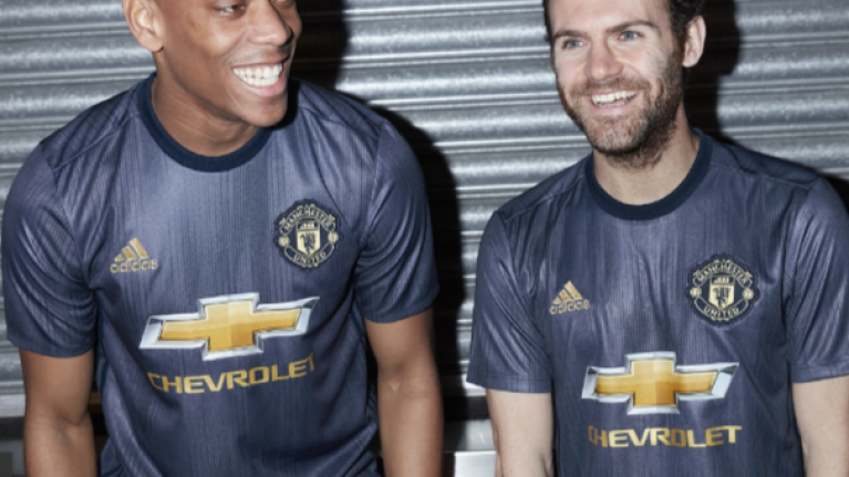 Manchester United's new third kit has been confirmed and it's a beauty