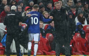Wayne Rooney leaves training early as Big Sam admits negotiations have taken place