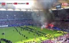 Chaos reigns as Hamburg are relegated for the first time in 55 years