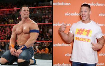 John Cena has a beard now, and he looks weird