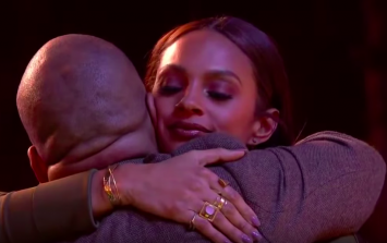Alesha Dixon had an emotional reunion with an old friend on Britain's Got Talent
