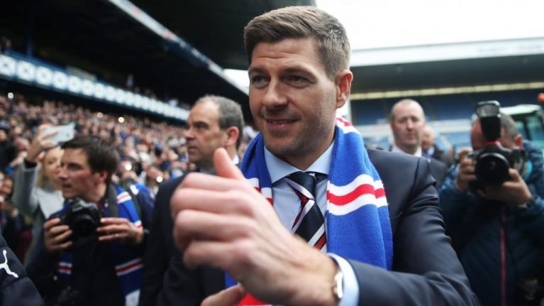Steven Gerrard set to unveil his first signing as Rangers manager