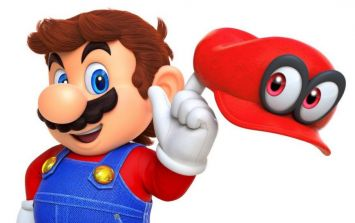 This image of Super Mario with his moustache shaved off is giving people nightmares