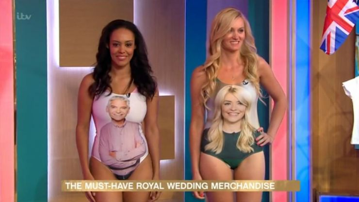 Phil Schofield and Holly Willoughby unveil their own swimsuits on This Morning