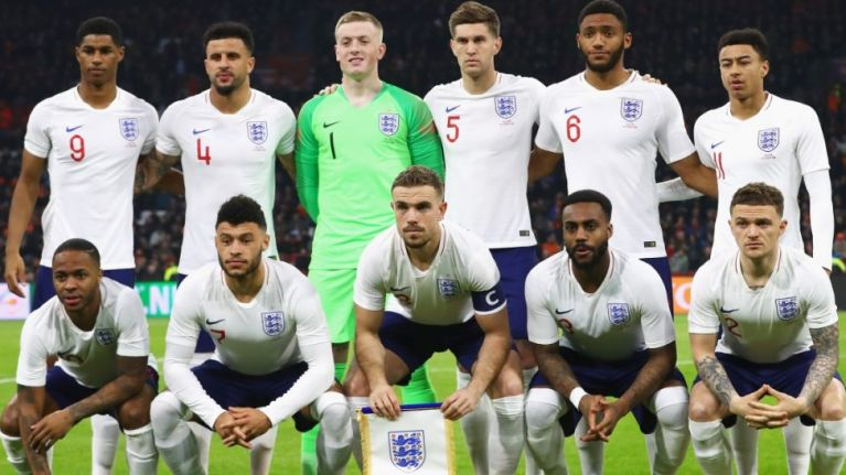 England World Cup squad announced