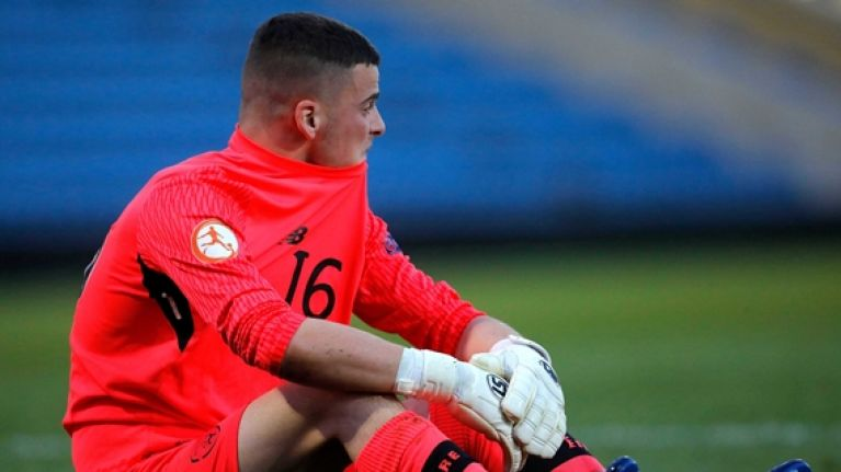 Ireland u17 goalkeeper issues classy statement on controversial red card