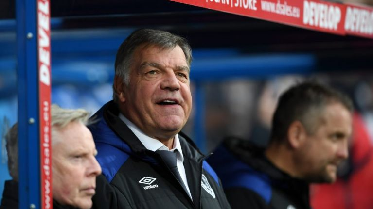 Everton announce Sam Allardyce has left the club