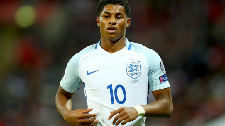 Marcus Rashford posts touching tweet to his mum after making World Cup squad