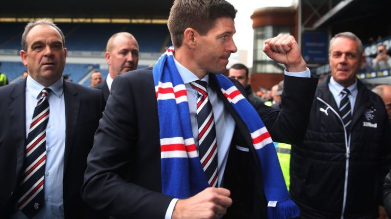 Steven Gerrard makes second signing as Rangers manager