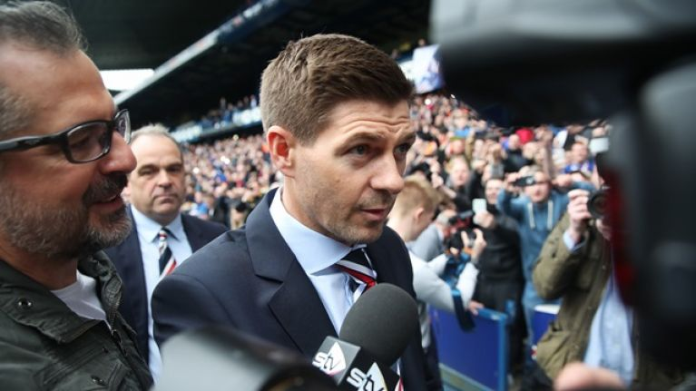 Steven Gerrard linked with move for one of the most prolific strikers in Premier League history