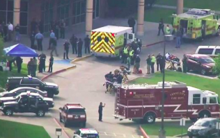 Up to 10 dead after gunman wielding a bomb opens fire in Texas high school