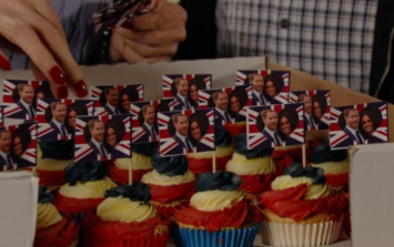EastEnders has gone royal wedding mad tonight and it's doing people's heads in