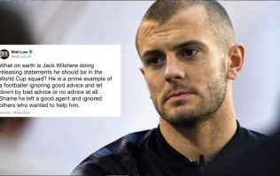 Jack Wilshere fires back at journalist who questioned his response to missing the England call-up