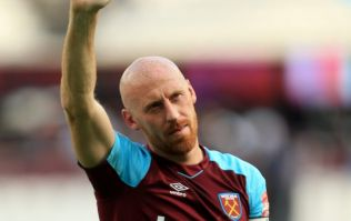James Collins informed by West Ham that he is being released in the cruelest way possible