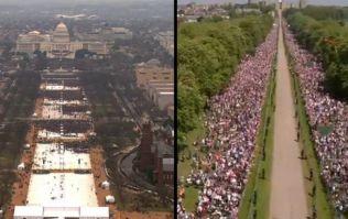 BBC trolls Trump over inauguration crowd size in royal wedding tweet