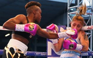 Nicola Adams controversially stops opponent in third minute of two-minute round