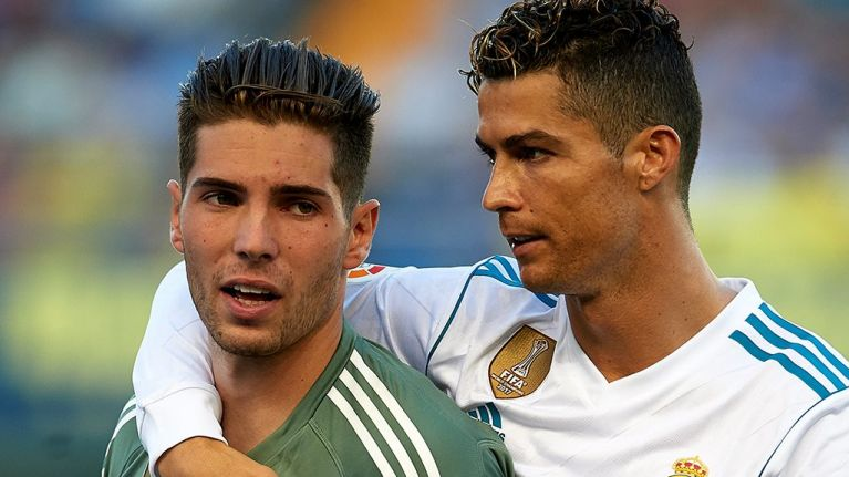 66cfa68101f WATCH  Zinedine Zidane s son pulls off incredible save on Real Madrid debut