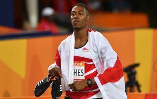 British sprinter beats Yohan Blake and Tyson Gay in Boston 100m