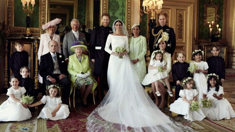 Meghan and Harry released their official wedding photos and there's a lot to dissect