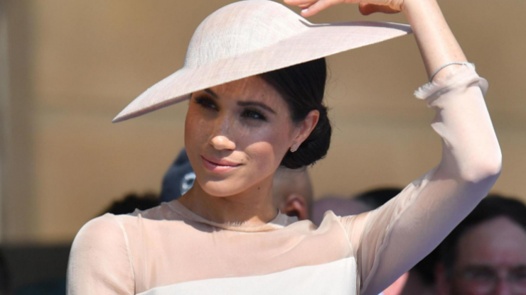 Fashion website crashes after Meghan Markle wears their dress in first public appearance since wedding