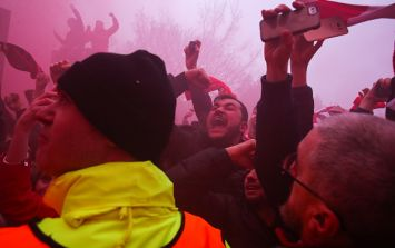 Liverpool and Roma both charged for crowd trouble